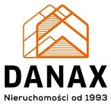 Logo DANAX NIERUCHOMOŚCI rok zał. 1993