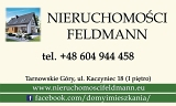 Logo Nieruchomości Feldmann