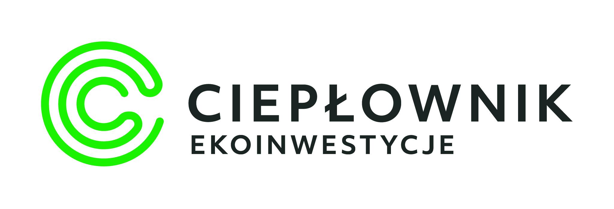 """Logo """"Ciepłownik Ekoinwestycje"""" Sp. z o.o.sp.k."""