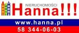 Logo HANNA!!! Pośrednictwo w obrocie nieruchomościami Hanna Lewandowska