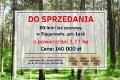 Zdjęcie do ogłoszenia: Działka leśna Sięganów  4 , 50  zł/m 2  leśna